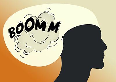 Boom head
