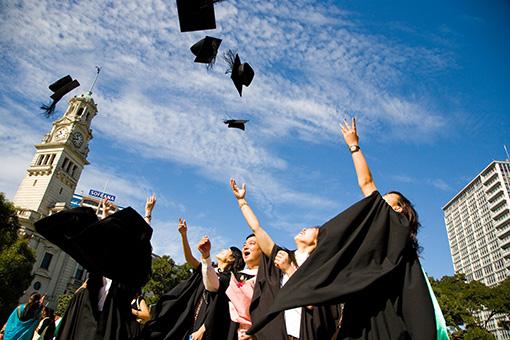Graduation for AUT