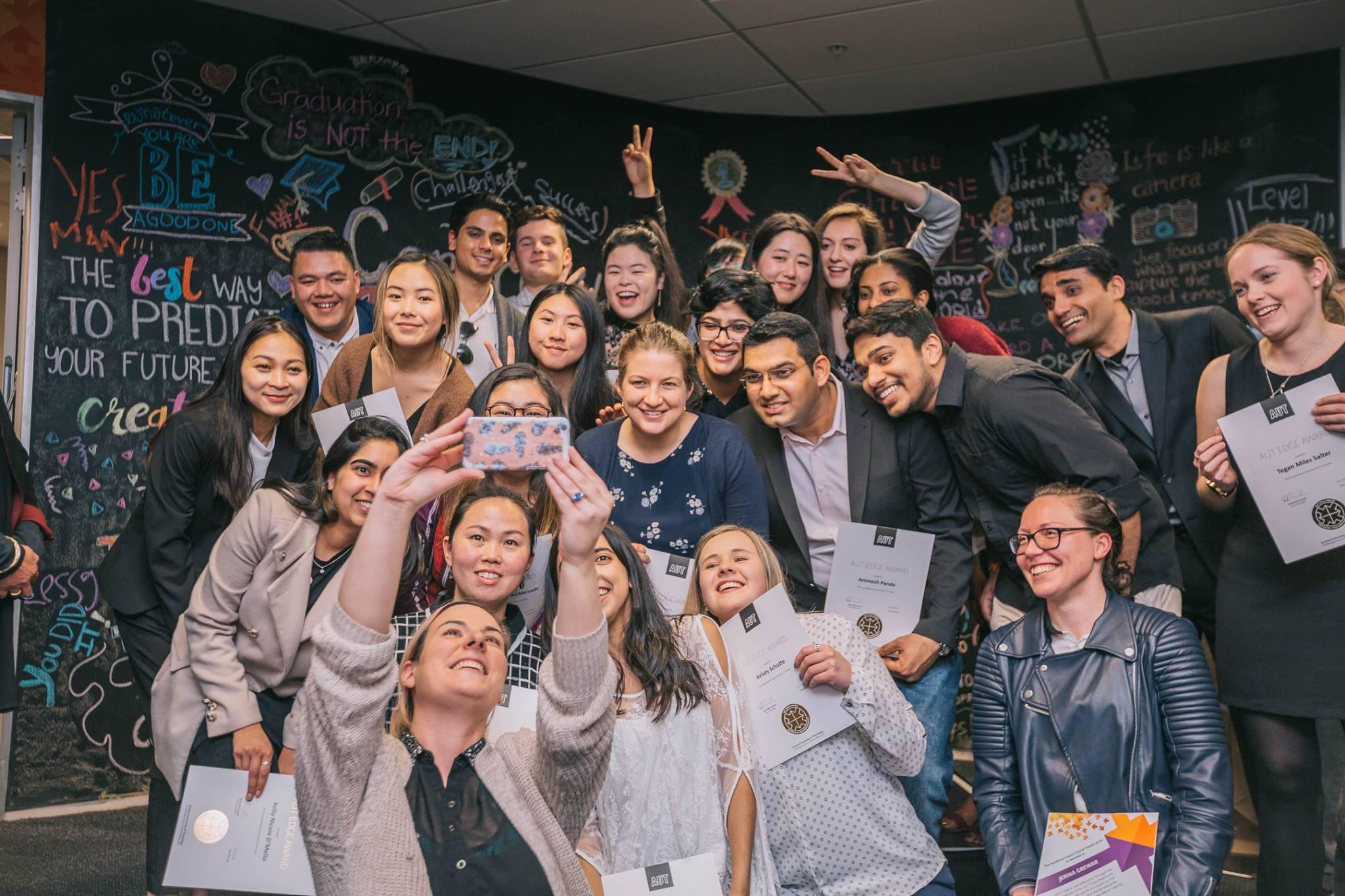 AUT Edge Award graduates