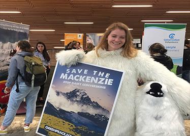 Greenpeace bear at Expo
