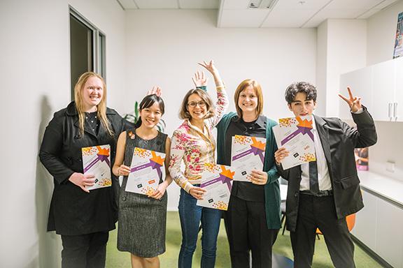 Happy AUT Edge Award winners