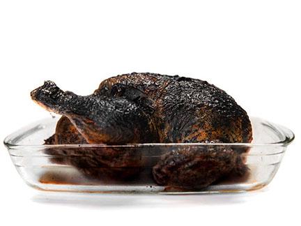 burned meal